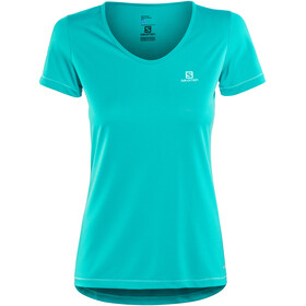 Salomon Mazy Shortsleeve Shirt Women blue